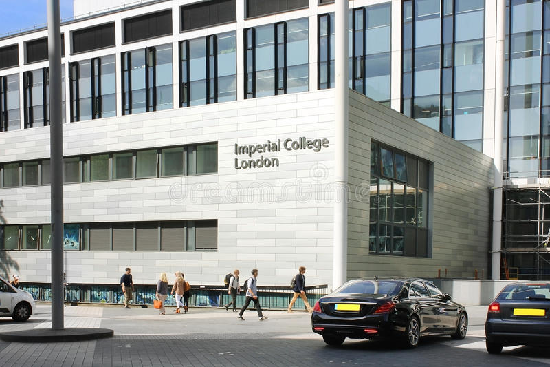 Istituto universitario imperiale, scuola di commercio, Londra fotografie stock