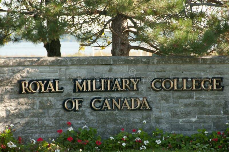 Istituto universitario militare reale - Kingston - Canada immagine stock