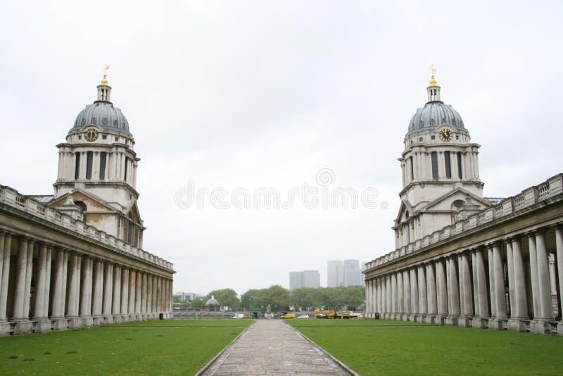 Istituto universitario navale reale, Greenwich immagini stock