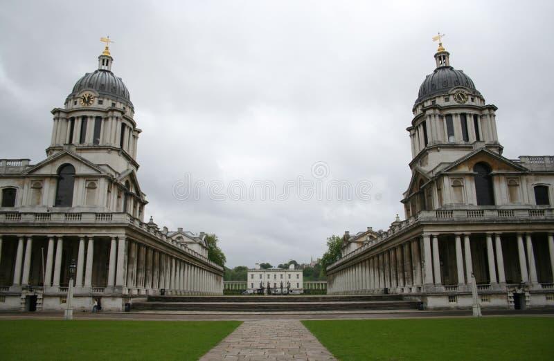 Istituto universitario navale reale, Greenwich immagine stock