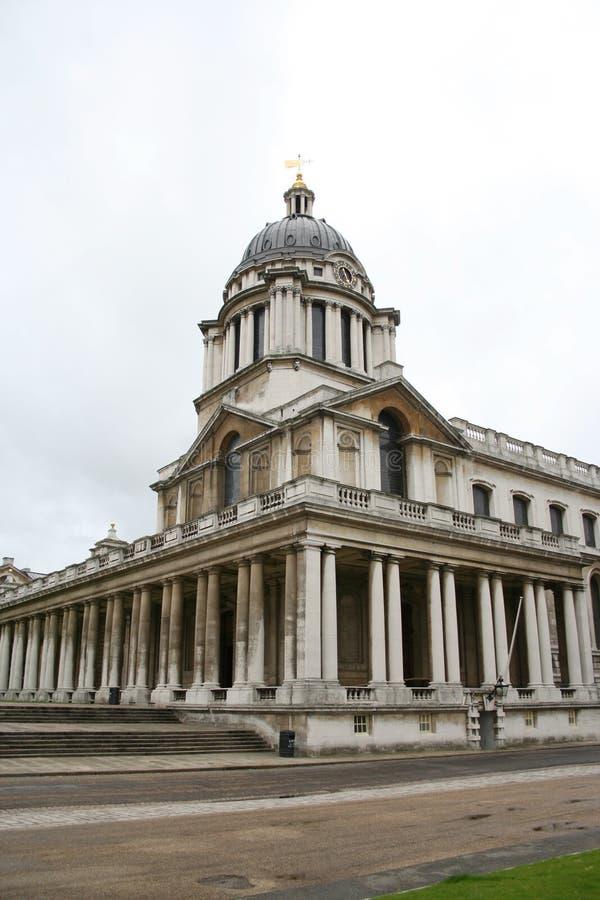 Istituto universitario navale reale, Greenwich fotografia stock libera da diritti