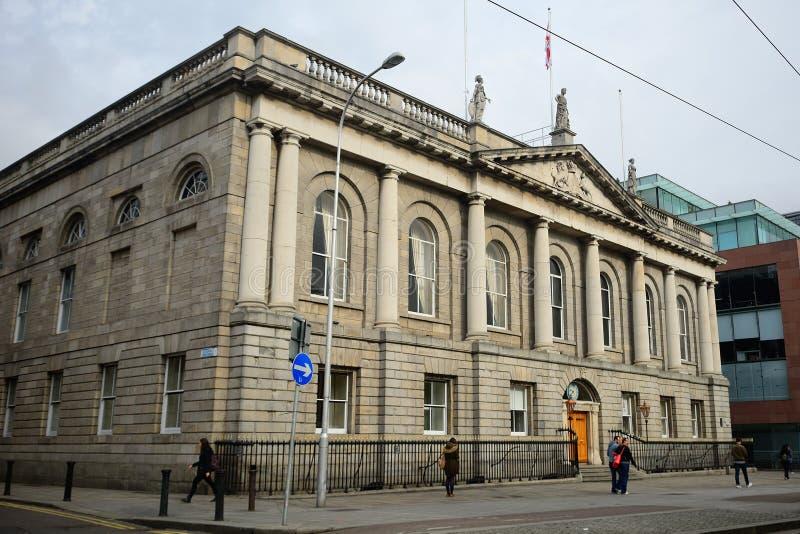 Istituto universitario reale dei chirurghi, Dublino, Irlanda fotografie stock libere da diritti