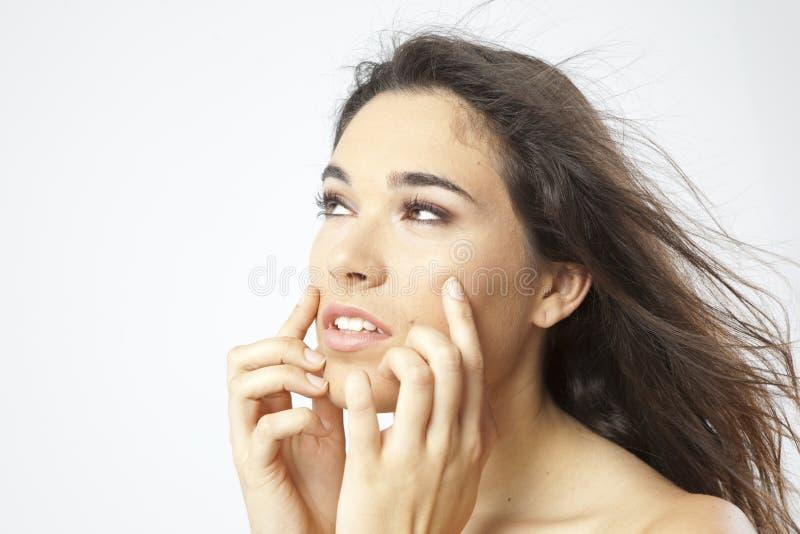 Istna Piękna Młoda Dziewczyna Fotografia Stock