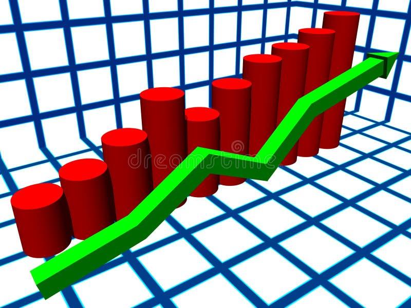 Istogramma illustrazione di stock