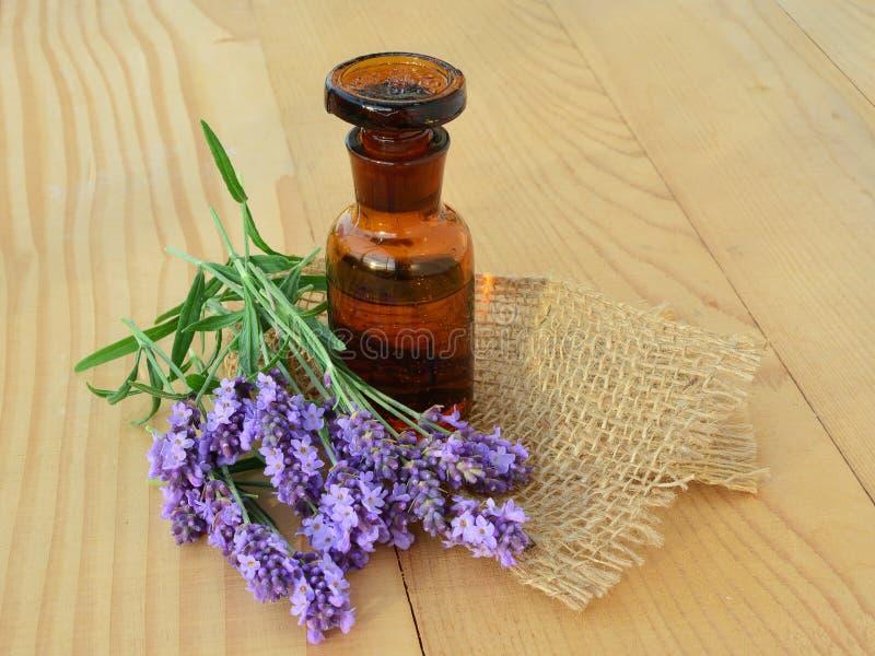 istotne kolorze lila oleju obraz stock
