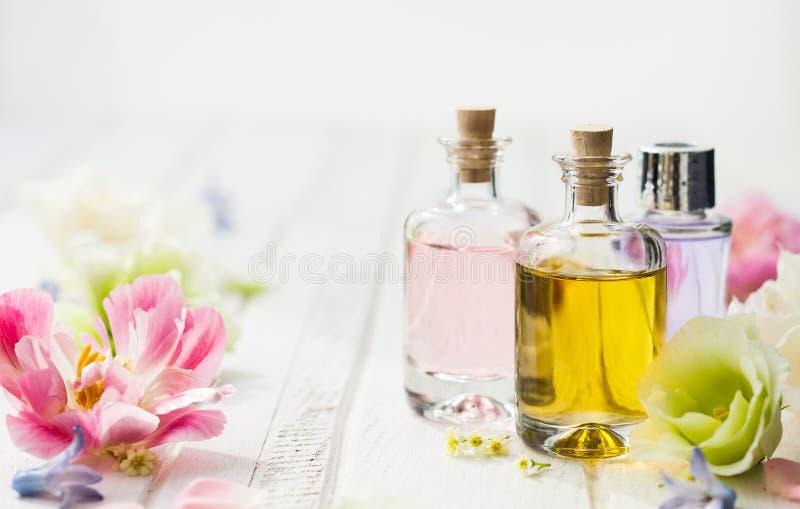 Istotny aromata olej obraz royalty free
