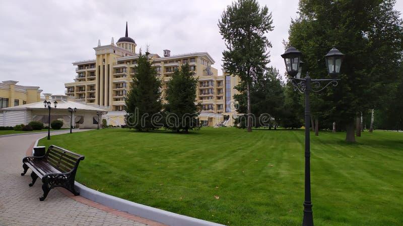 ISTRA, RUSSIE - AOÛT 2019 hôtel et station thermale de mistral photographie stock libre de droits