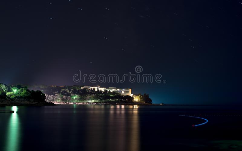 Istria半岛的旅馆Brioni 免版税库存图片