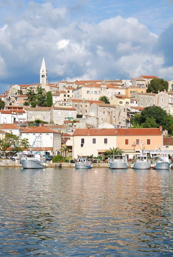 istria Хорватии vrsar стоковое изображение