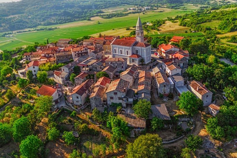 Istria - Beram stock images