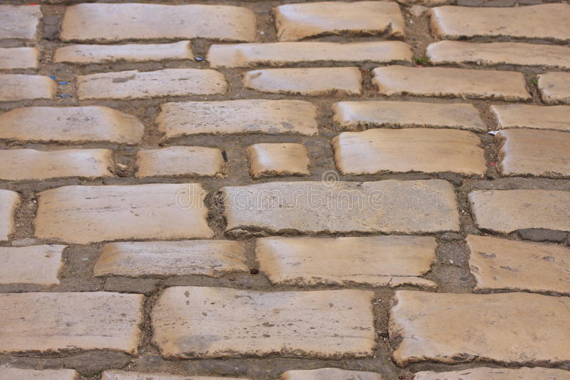 Istrian stone road royalty free stock photography
