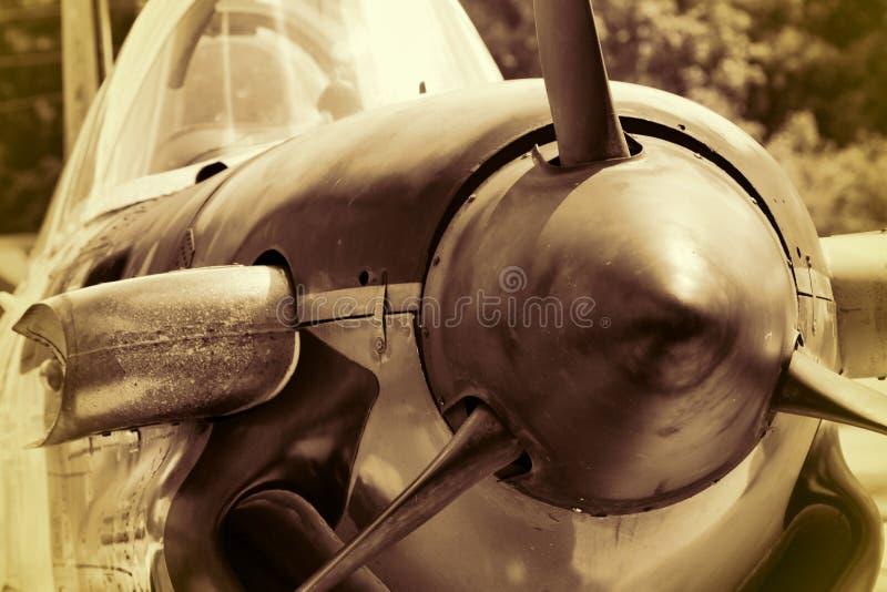 Istruttore del mentore della seconda guerra mondiale T-34 della marina statunitense immagini stock libere da diritti