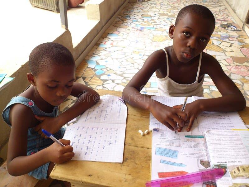 Istruzione in Africa immagine stock libera da diritti