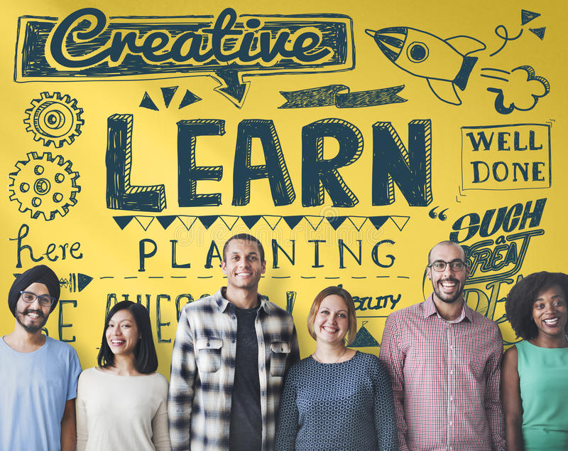 Istruzione che impara studiando studente Insight Concept fotografia stock libera da diritti