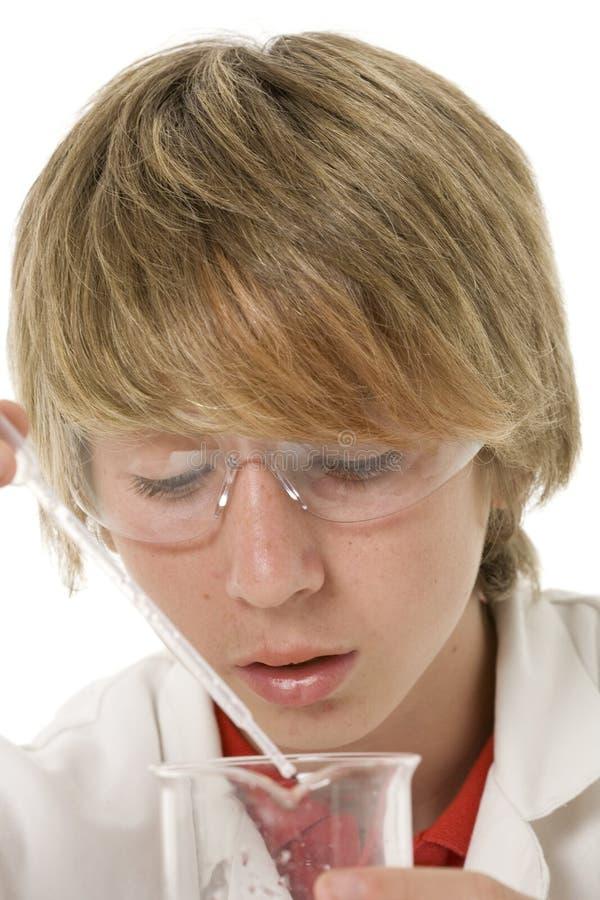 Istruzione di scienza alla scuola immagini stock libere da diritti