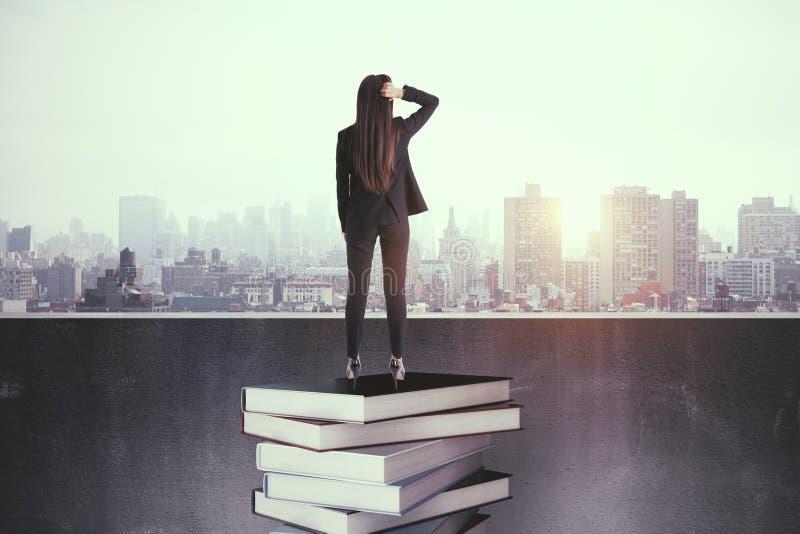 Istruzione e concetto di successo fotografie stock libere da diritti