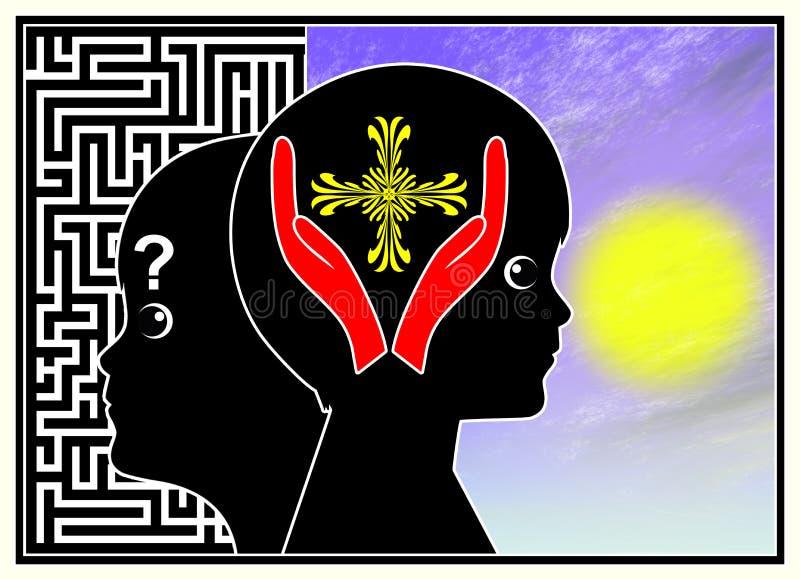 Istruzione e religione royalty illustrazione gratis
