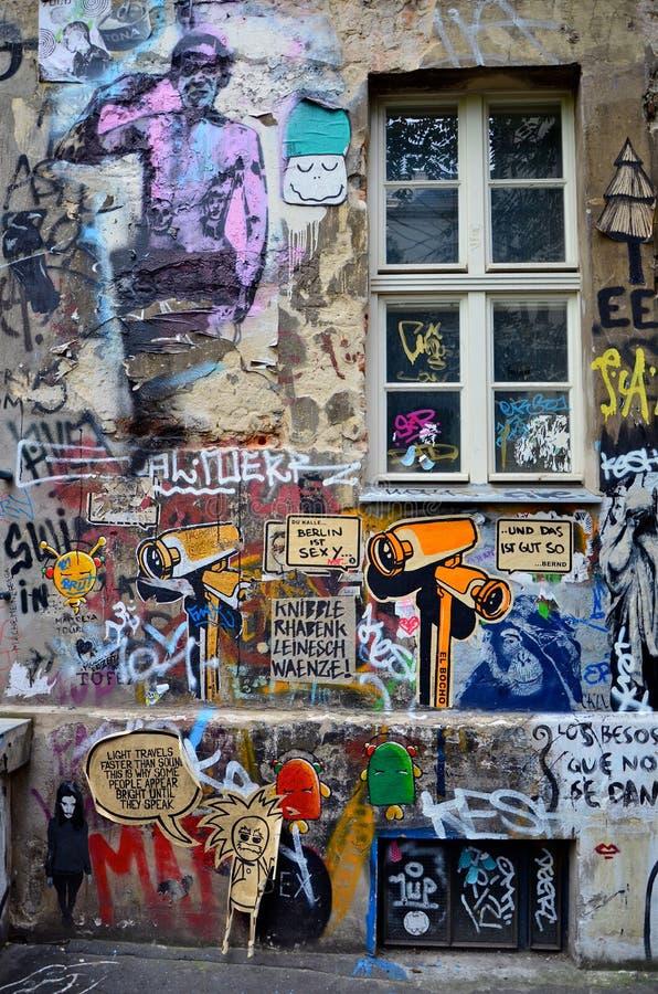 ISTs de Berlim 'sexy' imagens de stock royalty free