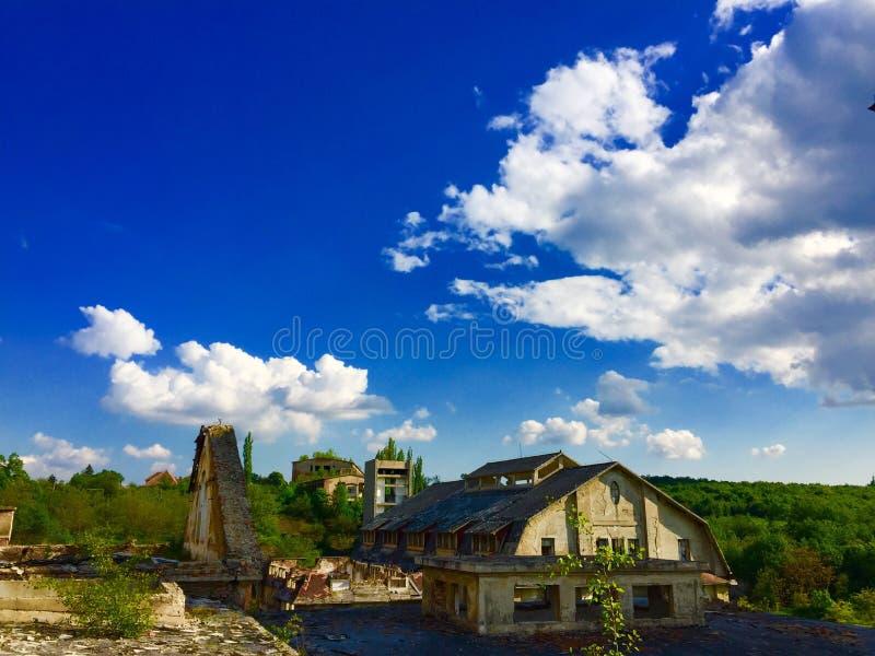 Istvan-Bergwerk lizenzfreie stockfotos