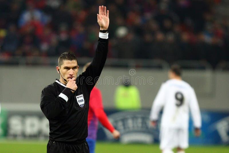 FC Steaua Bucharest FC Gaz Metan Medien Redaktionelles Stockbild