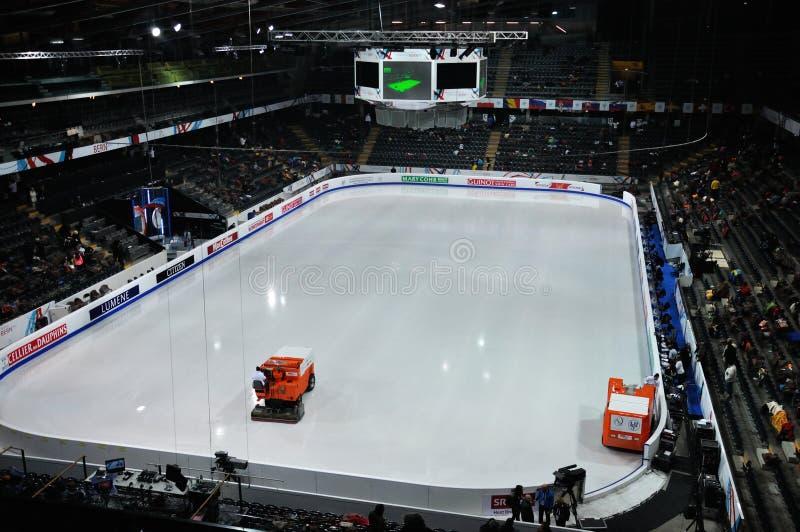 ISU-kunstschaatsen Europese champ 2011 royalty-vrije stock foto