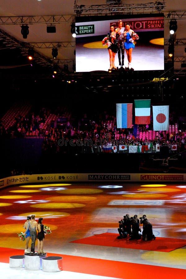 ISU Weltabbildung Eislauf-Meisterschaften lizenzfreie stockbilder