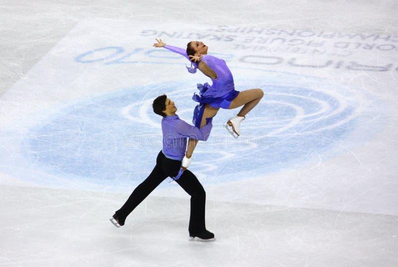 ISU World Figure Skating Championships 2010 stock images