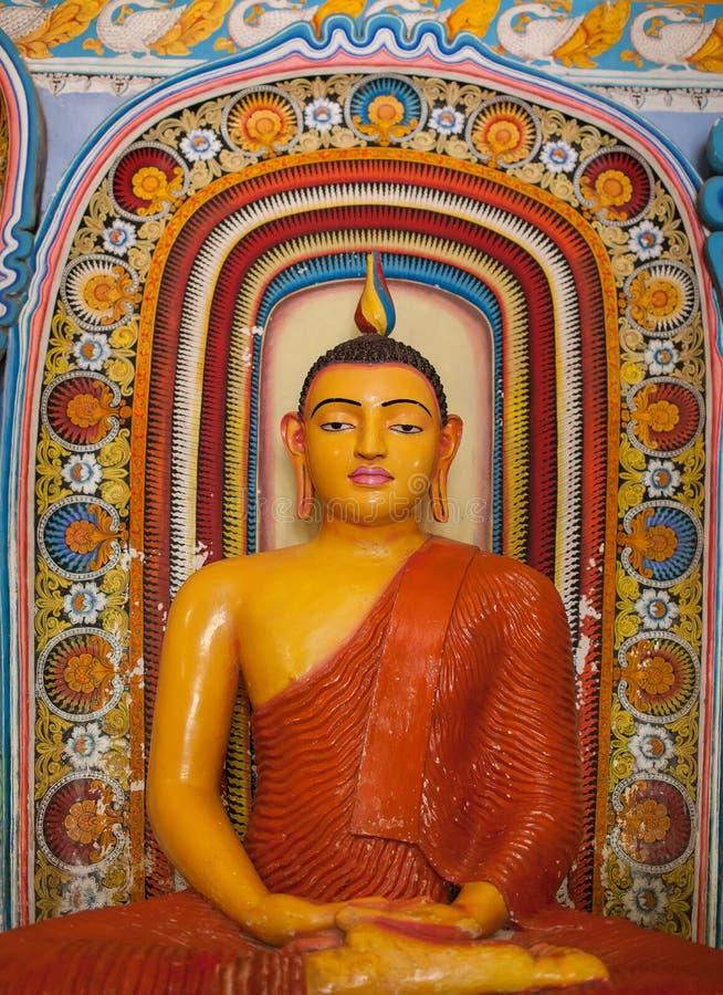 Isurumuniya寺庙在阿努拉德普勒,斯里兰卡 库存照片