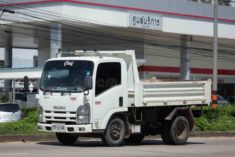 Isuzu Dump Truck privée photographie stock libre de droits