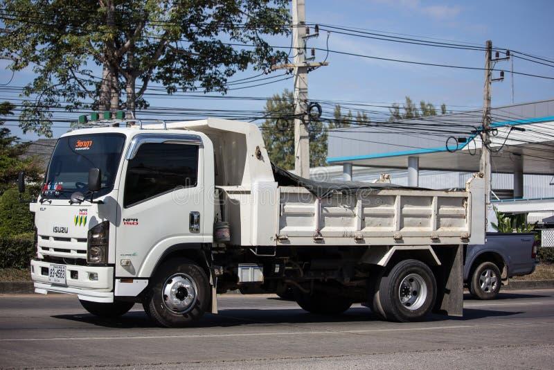 Isuzu Dump Truck privée photo stock