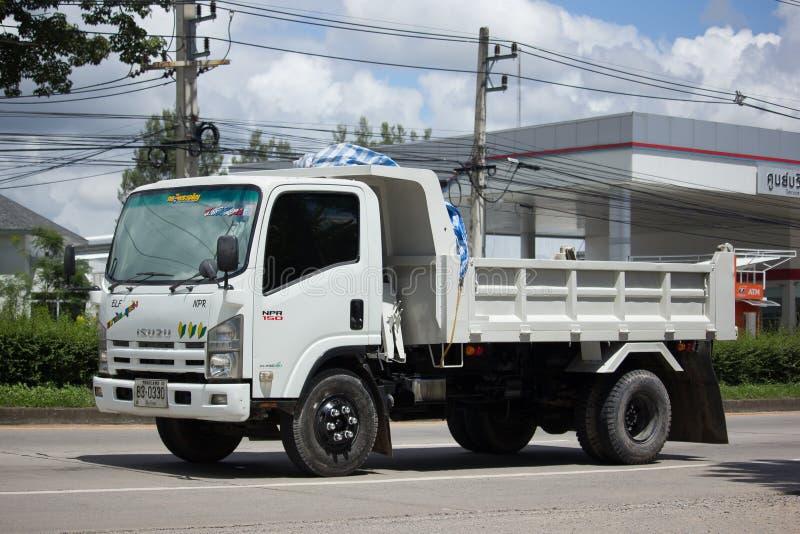 Isuzu Dump Truck privée images libres de droits