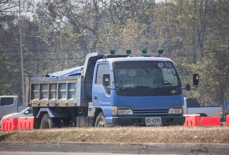 Isuzu Dump Truck privée image libre de droits