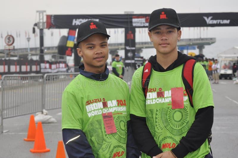Isuzu ironman 70 πρωτάθλημα 3 κόσμων στη Νότια Αφρική στοκ φωτογραφίες