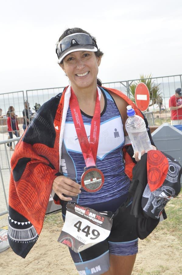 Isuzu ironman 70.3 world championship in South Africa royalty free stock photo