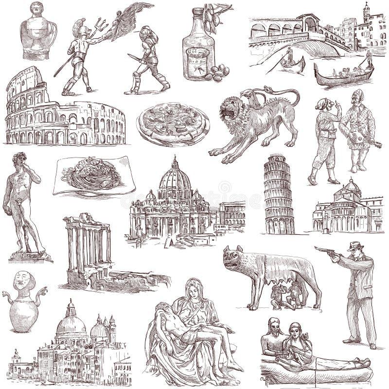 Itália ilustração royalty free