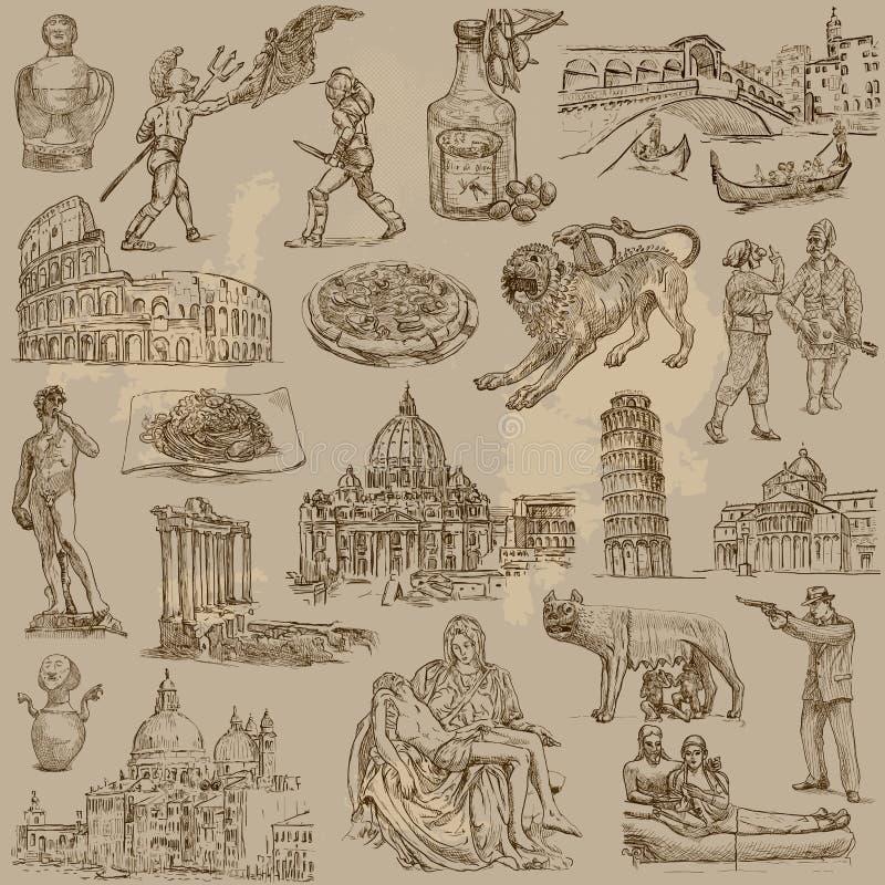 Itália ilustração do vetor