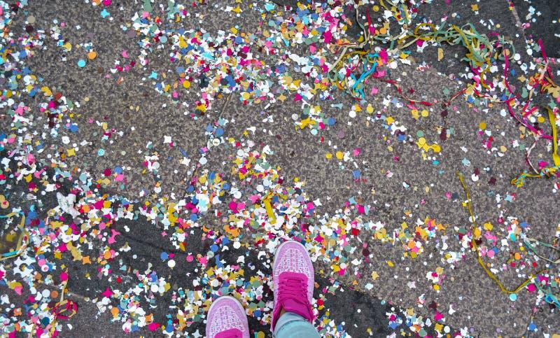 Itália, Milão, felicidade na cor fotos de stock
