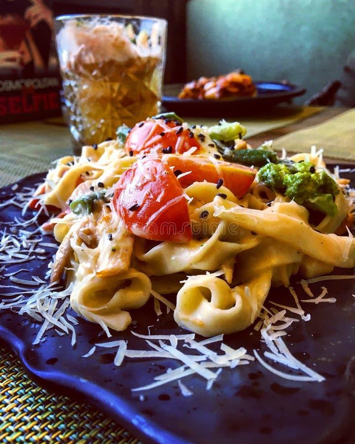 Itália na fotografia do alimento do  do ¤ï¸ do  de Vladivostokâ foto de stock