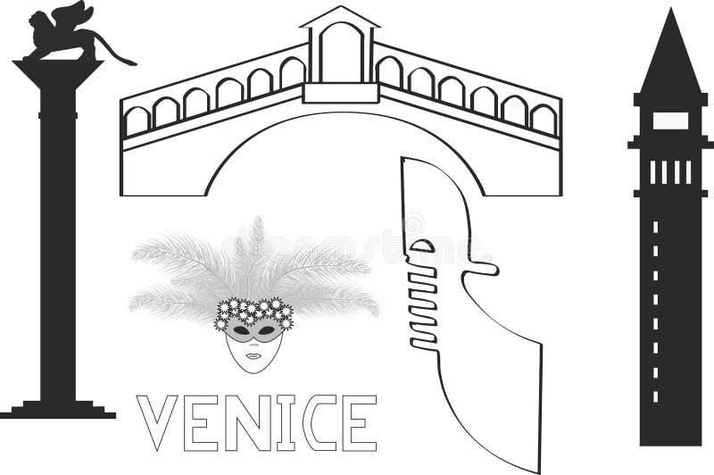 Itália Veneza Venezia fotografia de stock