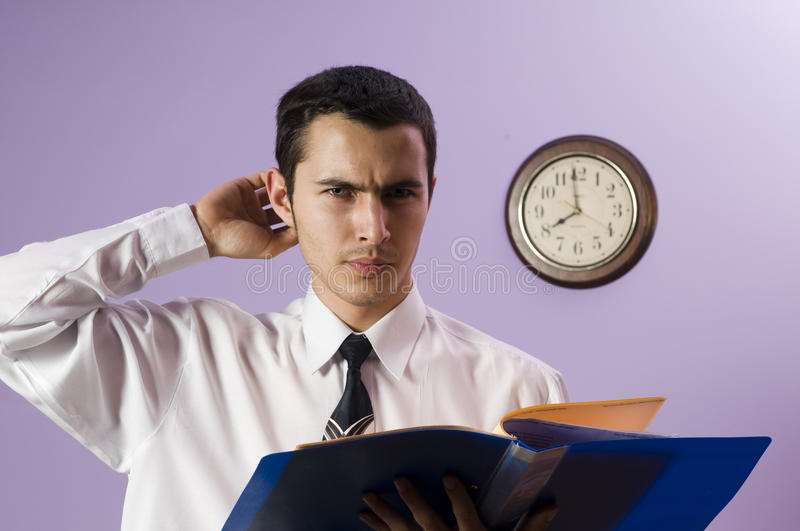 It's difficult task ! stock images