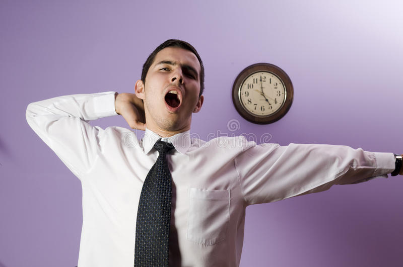 It's too late ! stock photos