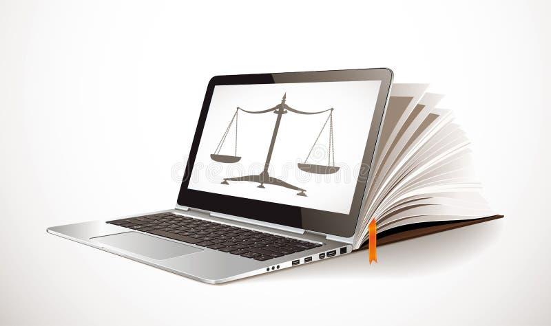 IT通信-电子教学概念-互联网当知识库 向量例证