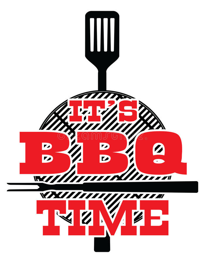 Free It`s BBQ Time - Vector Stock Image - 91626001