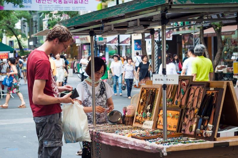 Itaewon-Markt stockbild