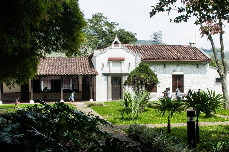 Itagui, Antioquia, Kolumbia Styczeń 06, 2019-Cultural ditaires, domowi i muzealni zdjęcie stock