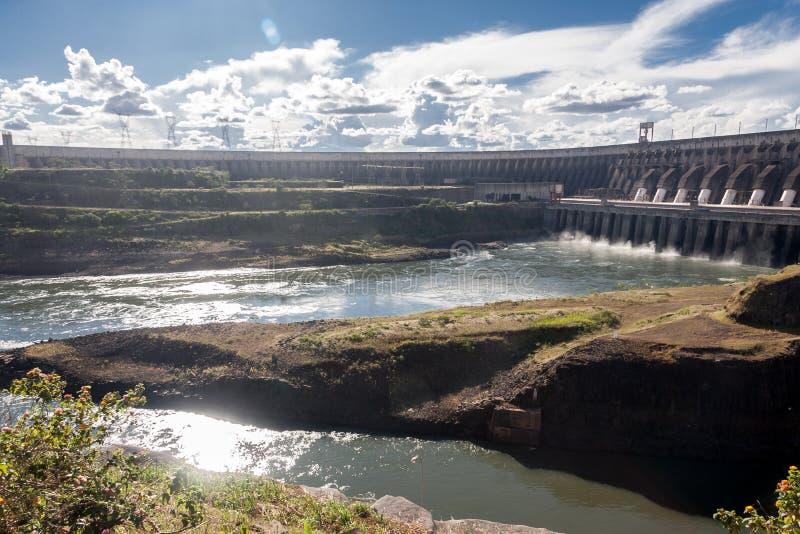 Itaipu Hydroelektryczna elektrownia zdjęcie stock