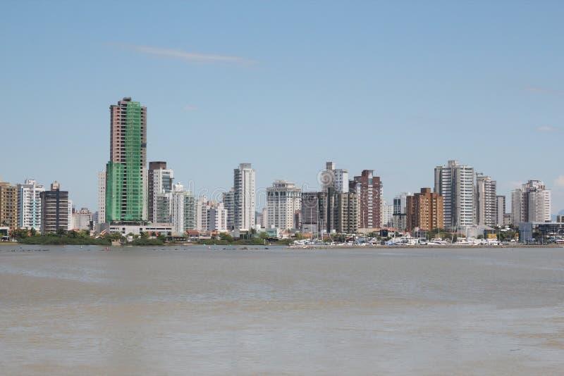 Itajai - Santa Catarina - el Brasil imágenes de archivo libres de regalías