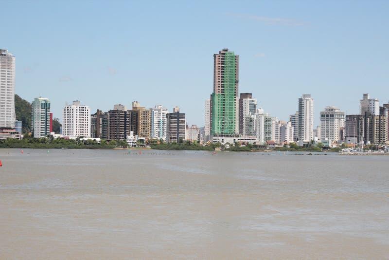 Itajai - Santa Catarina - le Brésil photographie stock libre de droits