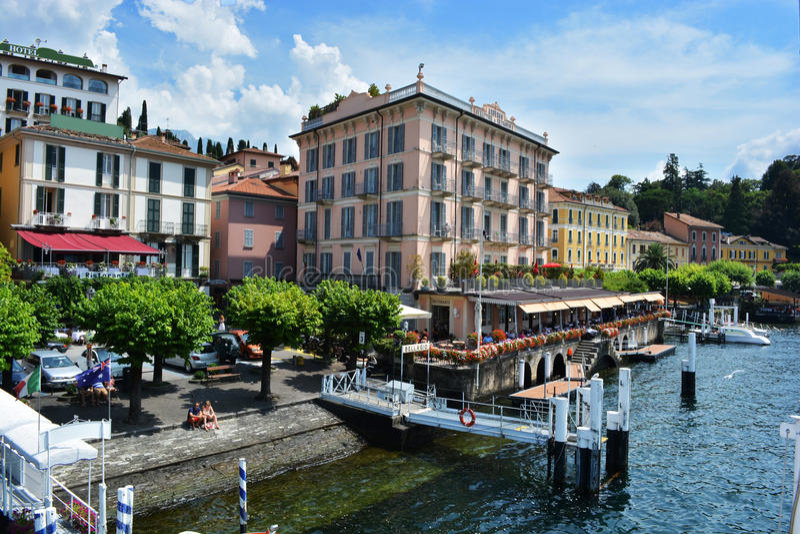 Italië, Bellagio royalty-vrije stock foto's