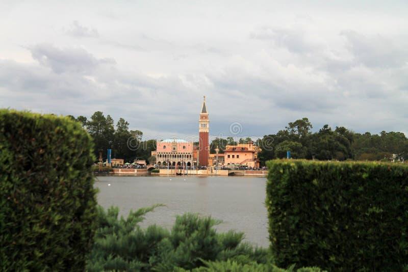 Italië bij Showcase van het paviljoen van wereldlanden in Epcot royalty-vrije stock afbeeldingen